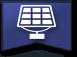 Panneaux solaires de confort