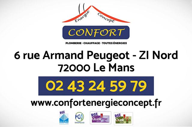 Confort Energie Concept Plombier Chauffagiste Le Mans Article4