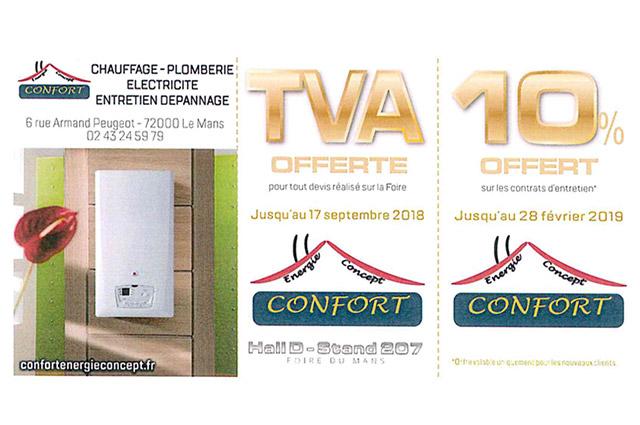 Confort Energie Concept Plombier Chauffagiste Le Mans Article5