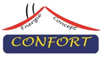 Confort energie concept Logo